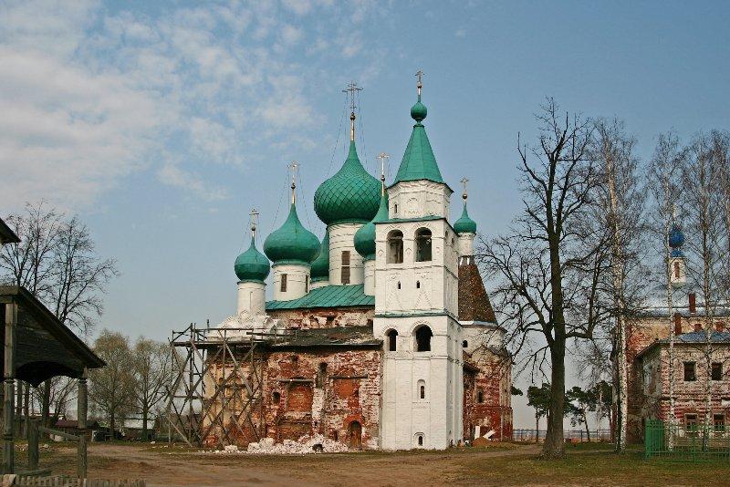 Богоявленский Авраамиев монастырь в Ростове