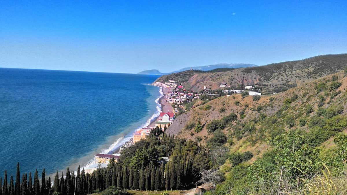 Рыбачье Крым пляжи