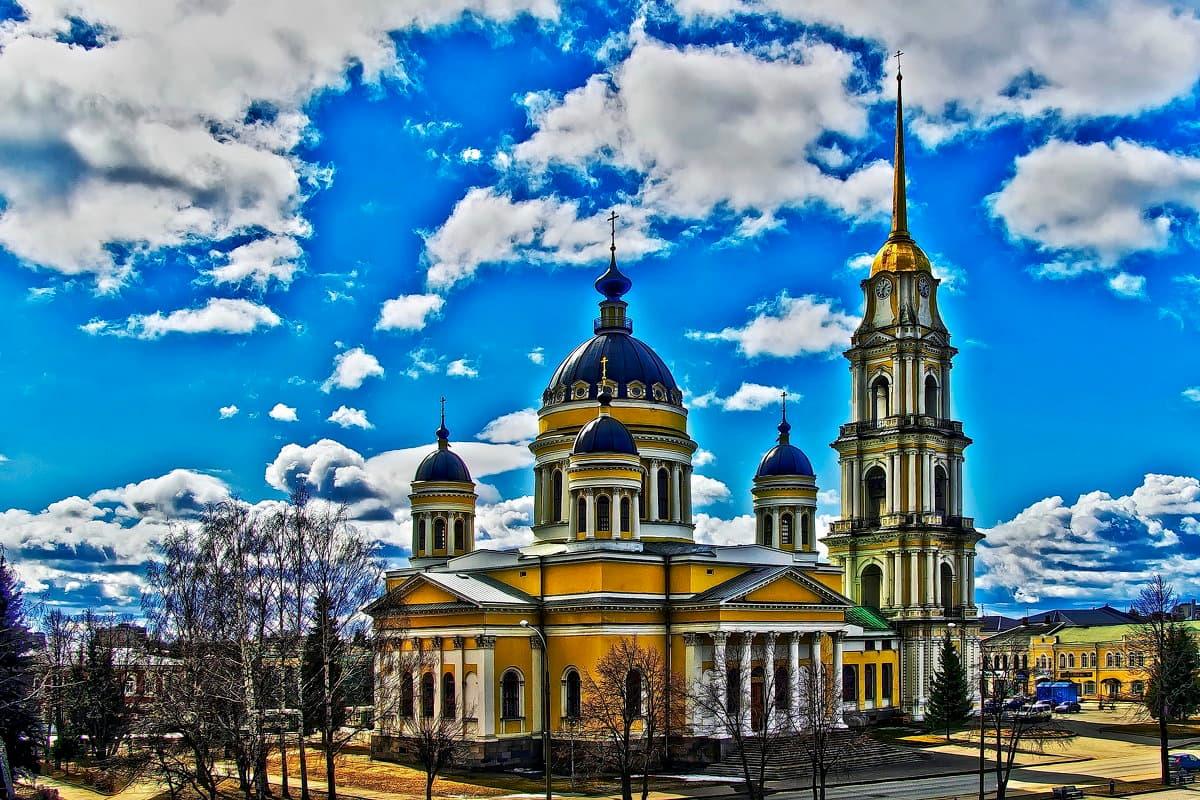 Спасо-Преображенский собор Рыбинска