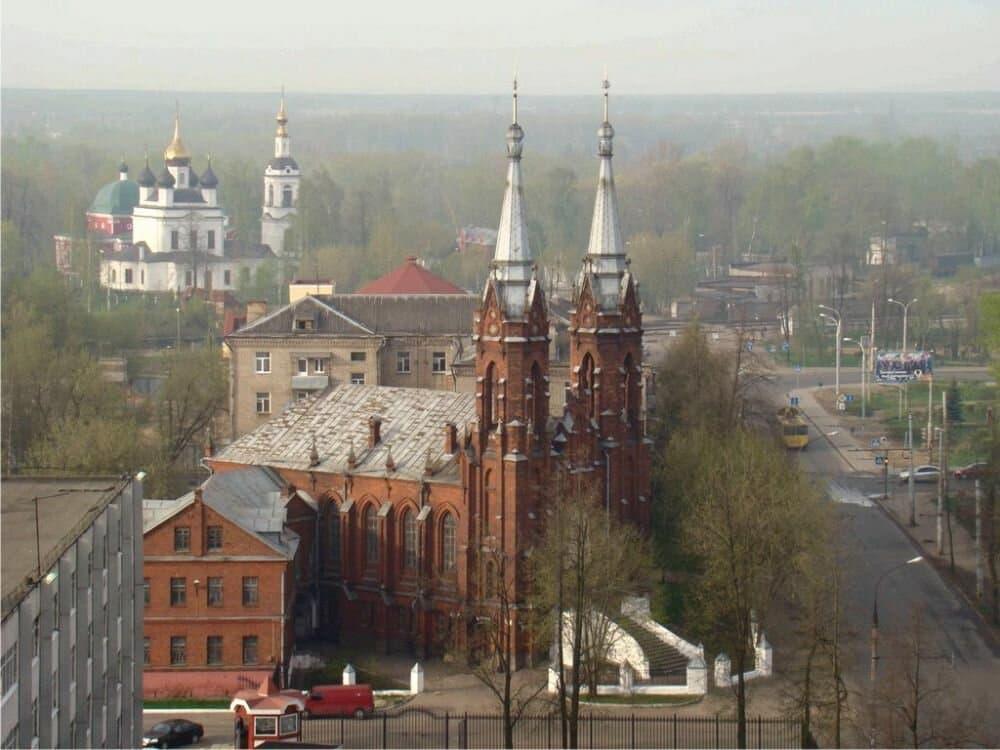 Храм Сердца Иисуса в Рыбинске