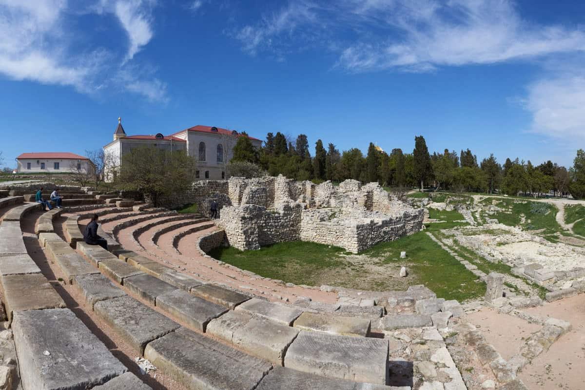 Античный театр Херсонес в Севастополе