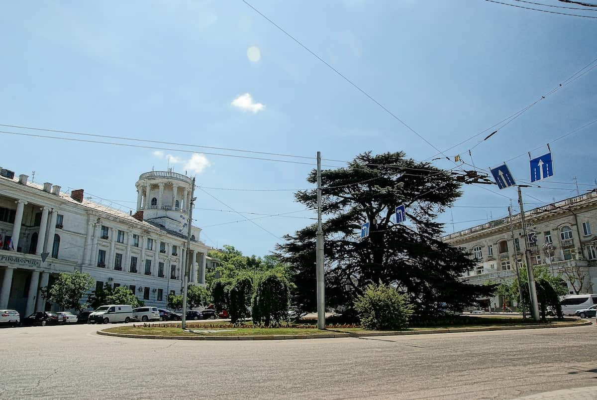 Площадь Лазарева в Севастополе