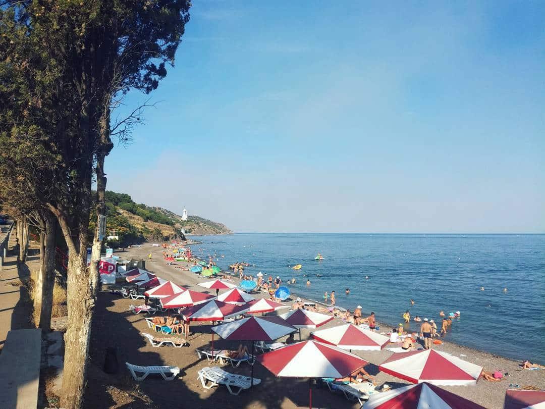 Солнечногорское пляжи