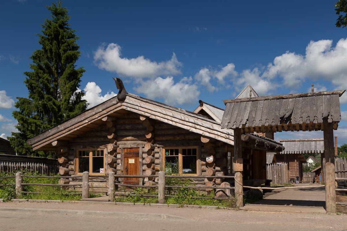 Усадьба средневекового рушанина в Старой Руссе