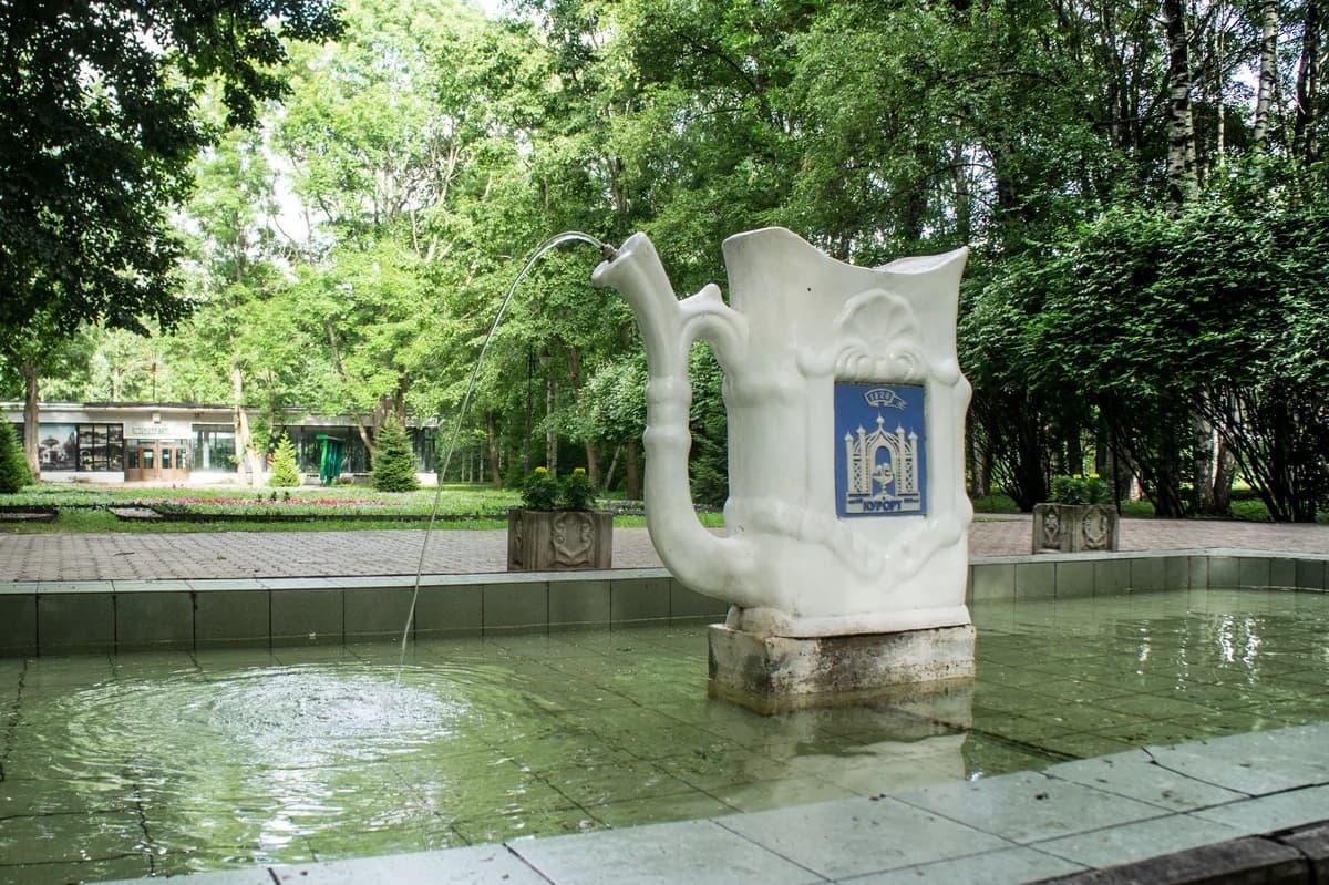 Курортный парк Старой Руссы