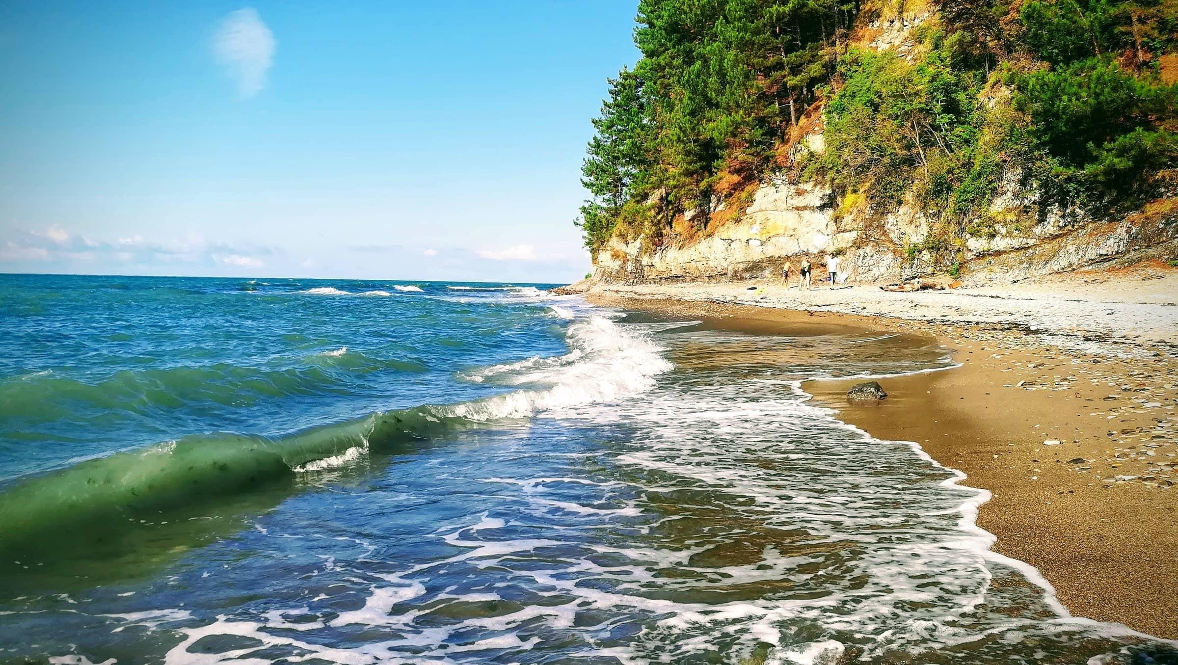Туапсе Приморский пляж