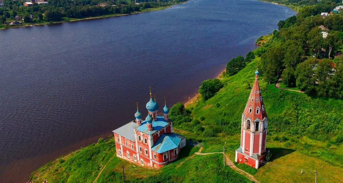Казанско-Преображенская церковь Тутаева