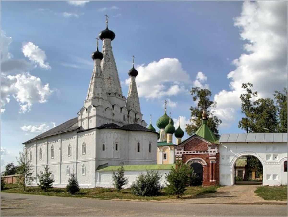 Алексеевский женский монастырь Углича