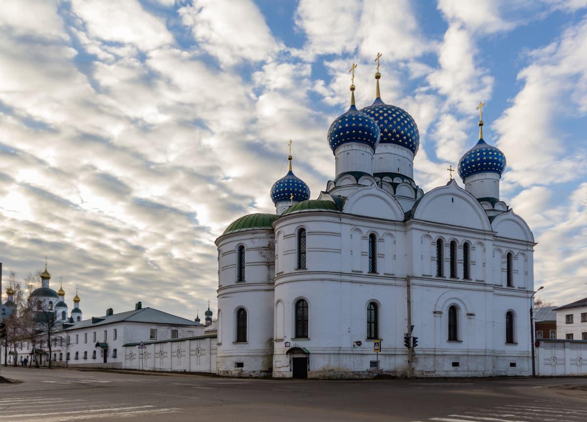 Богоявленский женский монастырь Углича