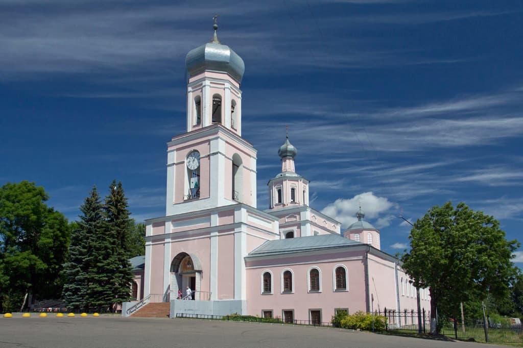 Свято-Троицкий собор валдай