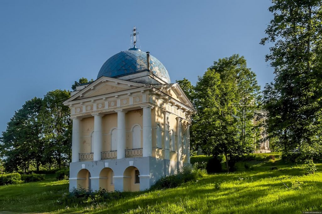 часовня Иоанна Боровичского валдай