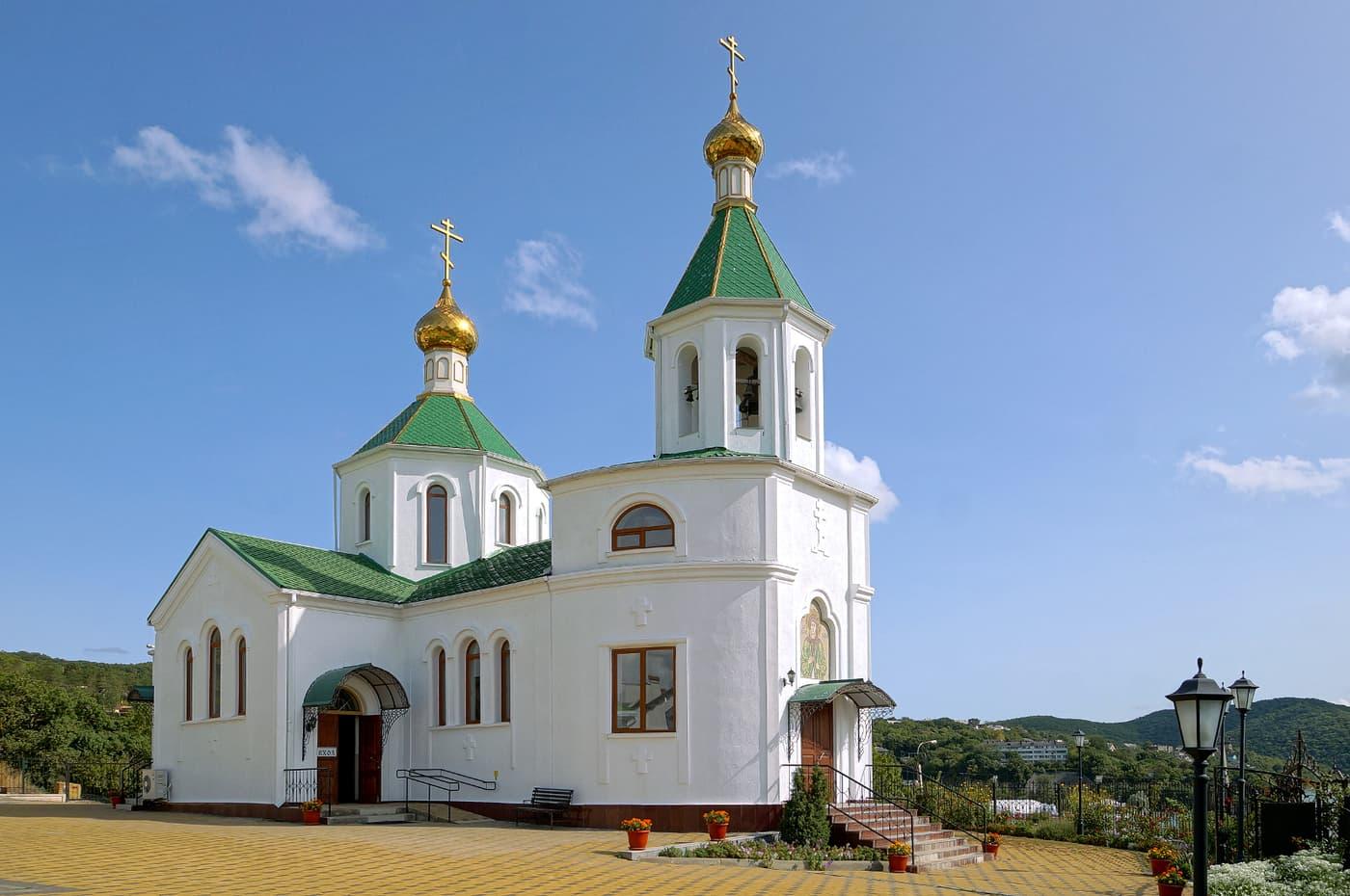 Абрау Дюрсо церковь