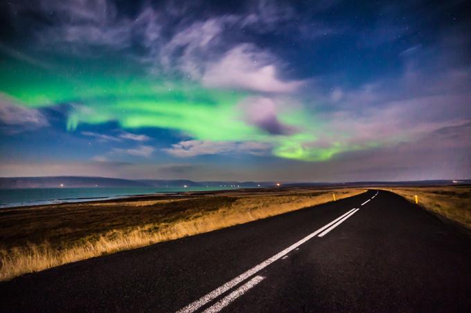 680-night-iceland-road