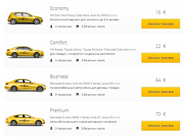 такси из аэропорта Тбилиси