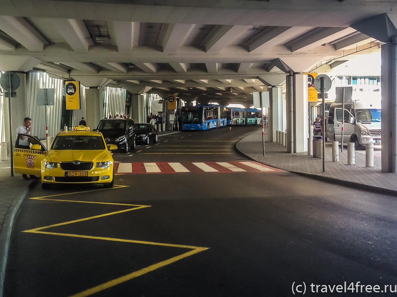 автобусы Будапешт аэропорт