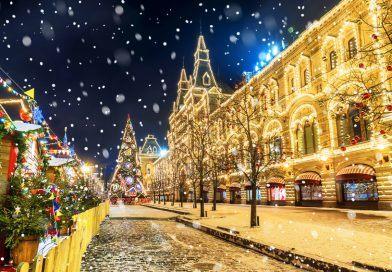 Новый Год в России: ТОП лучших мест