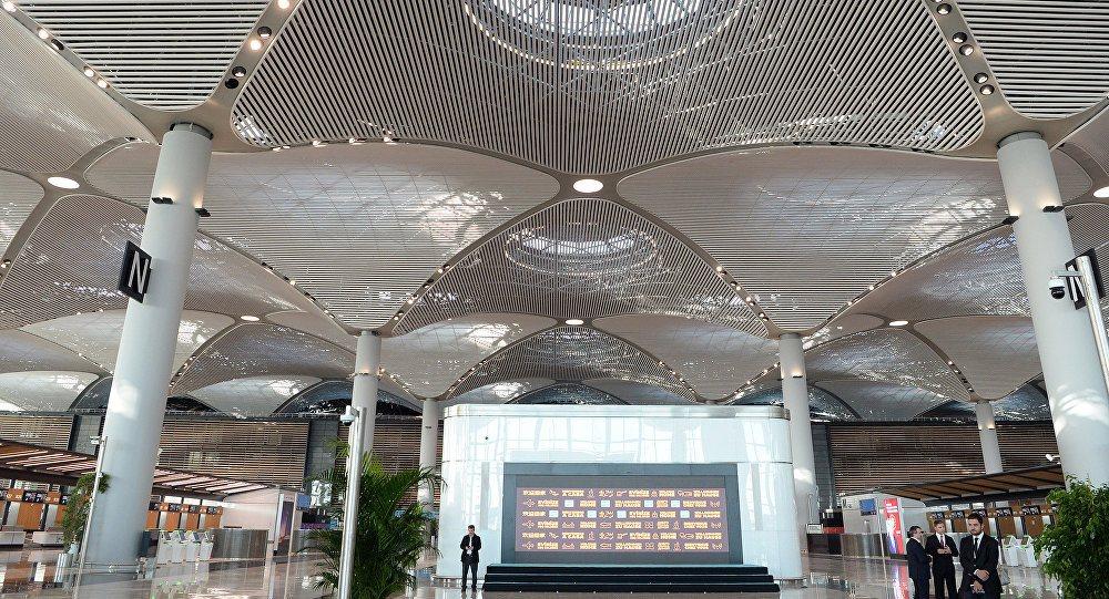 Стамбул новый аэропорт